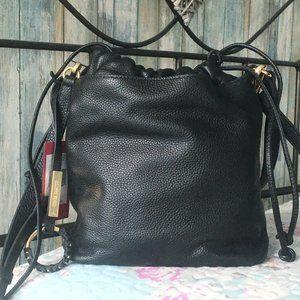 Vince Camuto Bucket Mandi Black Bucket Bag